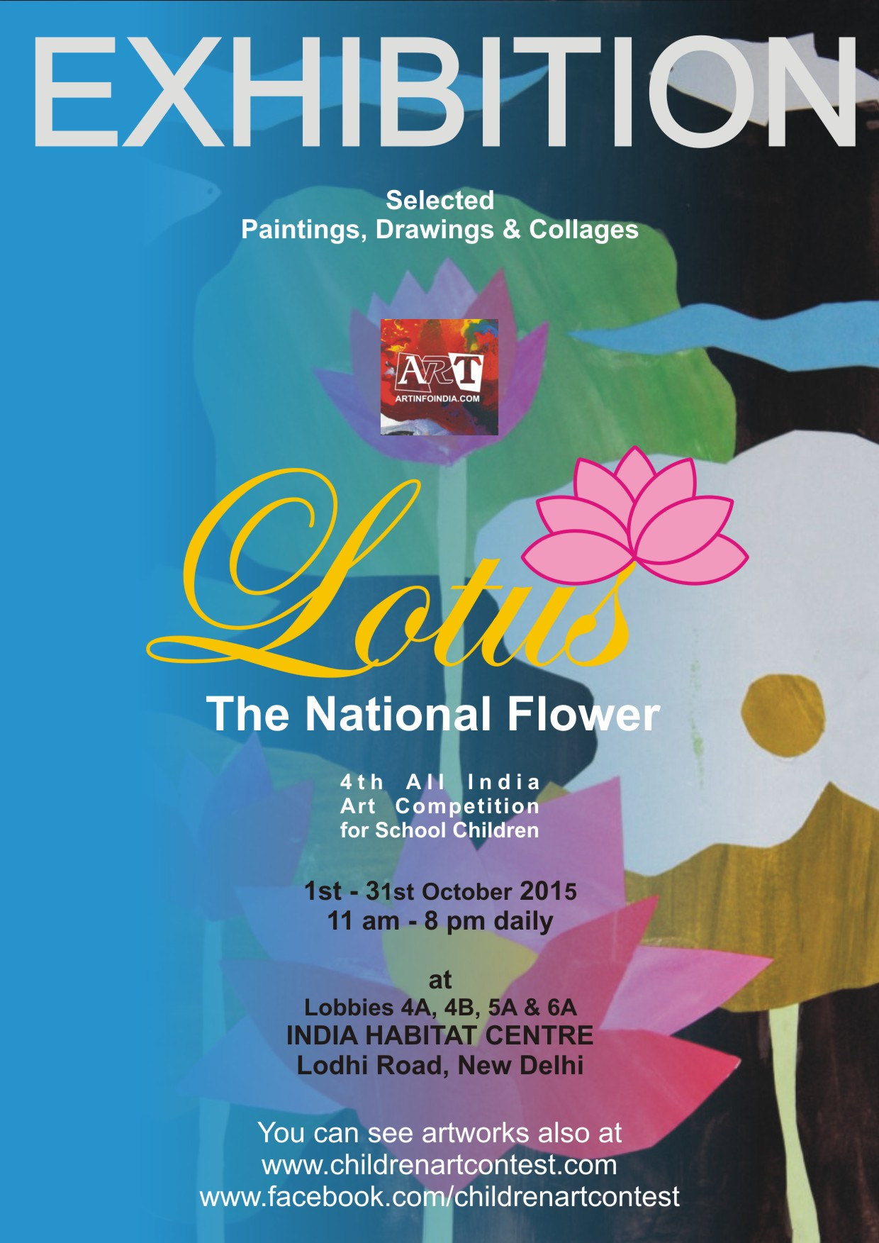 Exhibition Lotus The National Flower 2015 Colours Of National