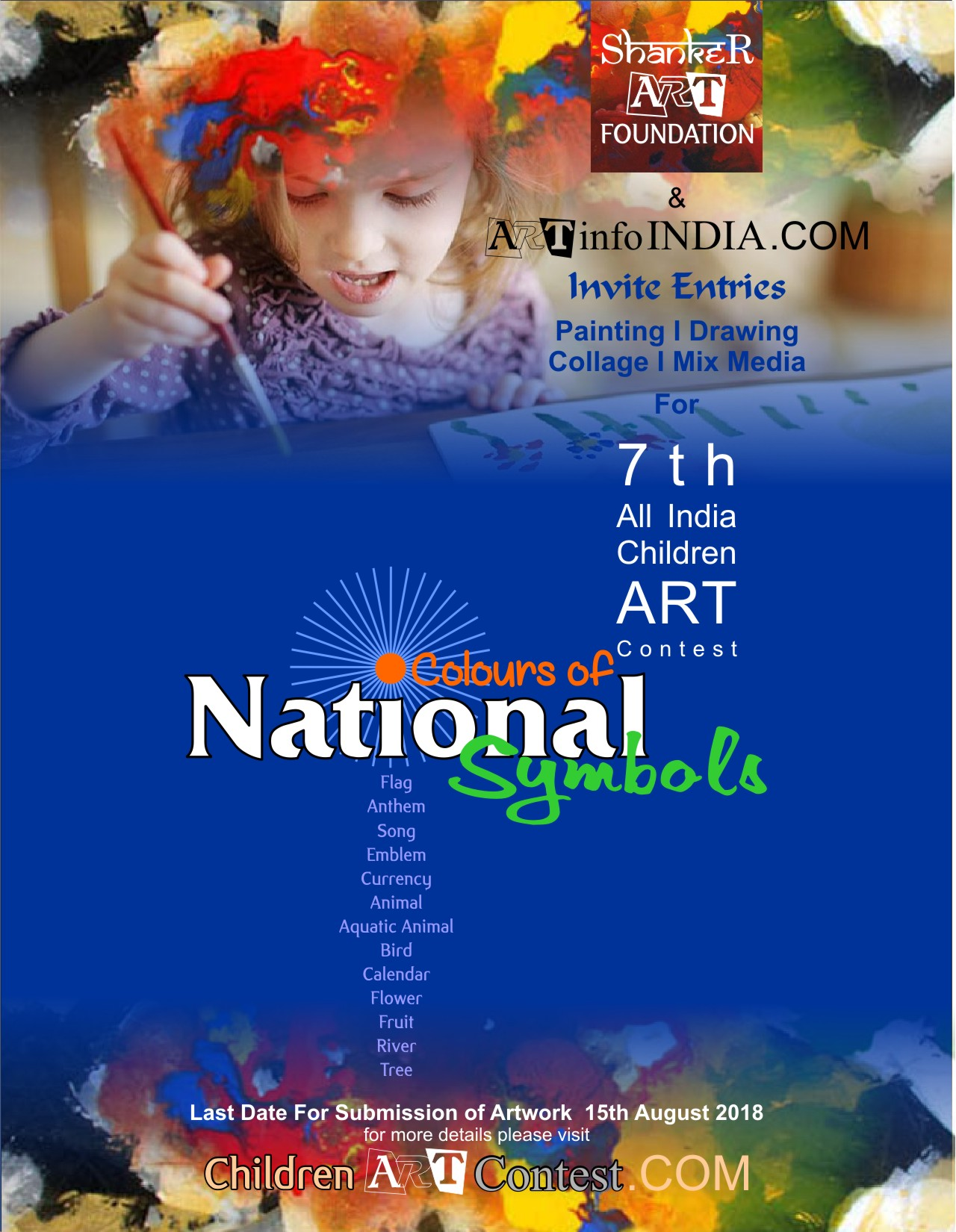 Poster Colours of National Symbols 2018